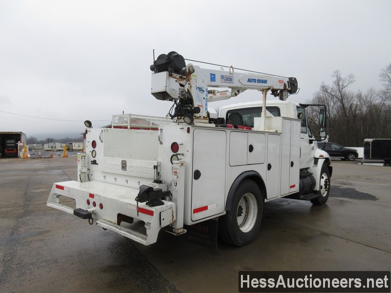 USED 2005 INTERNATIONAL 4300 SERVICE - UTILITY TRUCK TRAILER #35462-3