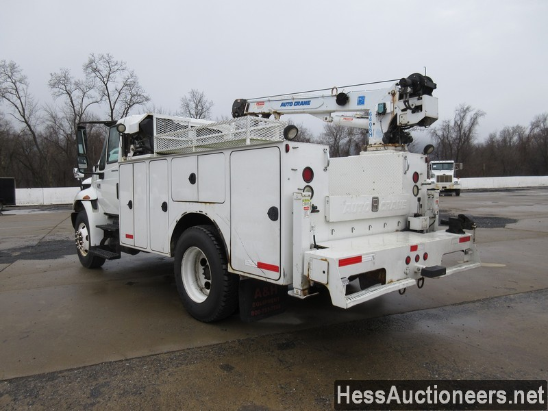 USED 2005 INTERNATIONAL 4300 SERVICE - UTILITY TRUCK TRAILER #35462-4
