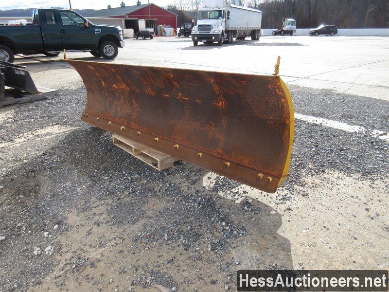 USED FISHER 10' SNOW PLOW ATTACHMENT #35470-1