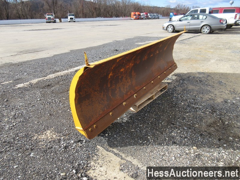 USED FISHER 10' SNOW PLOW ATTACHMENT #35470-2