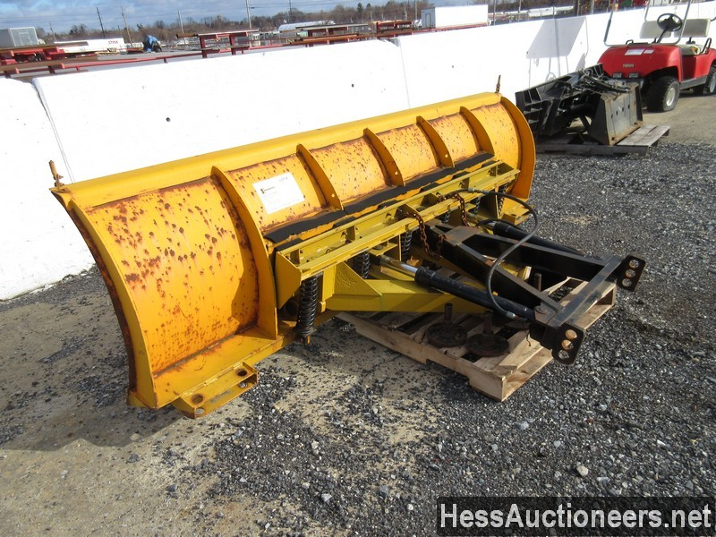 USED FISHER 10' SNOW PLOW ATTACHMENT #35470-4