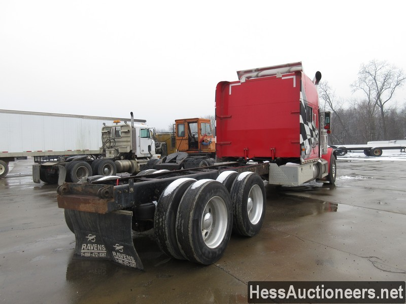USED 2000 PETERBILT 379 TANDEM AXLE SLEEPER TRAILER #35473-3