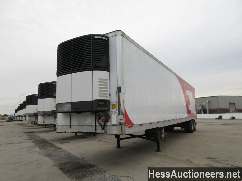 USED 2007 UTILITY 48' REEFER TRAILER #35474