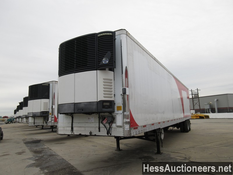 USED 2007 UTILITY 48' REEFER TRAILER #35475