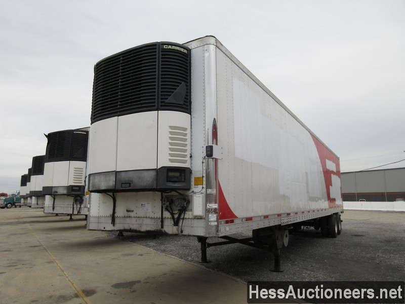USED 2007 UTILITY 48' REEFER TRAILER #35477