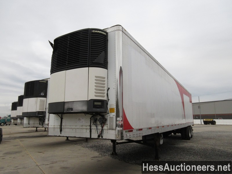 USED 2007 UTILITY 48' REEFER TRAILER #35478
