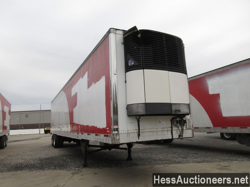 USED 2007 UTILITY 48' REEFER TRAILER #35478-2