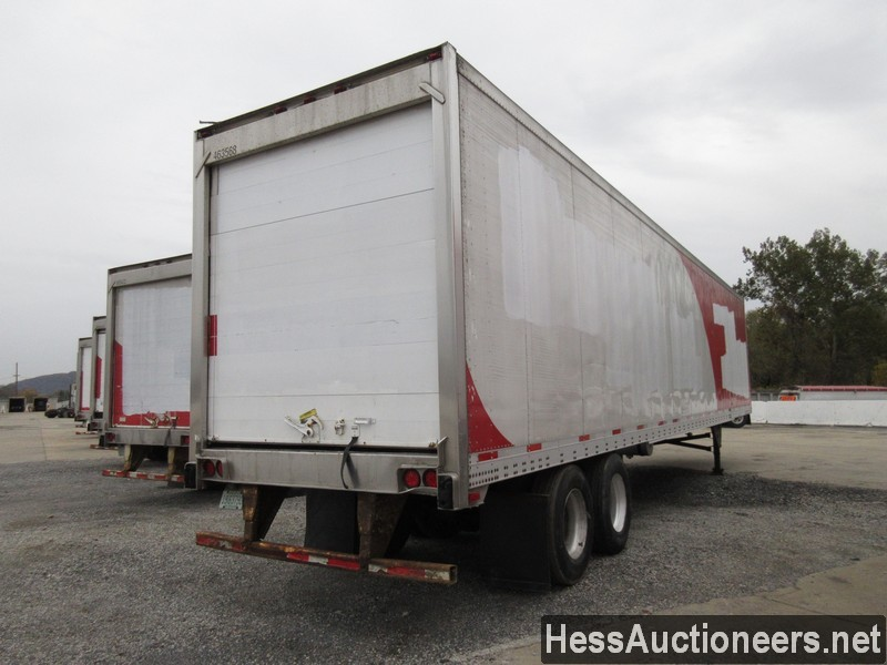 USED 2007 UTILITY 48' REEFER TRAILER #35478-3
