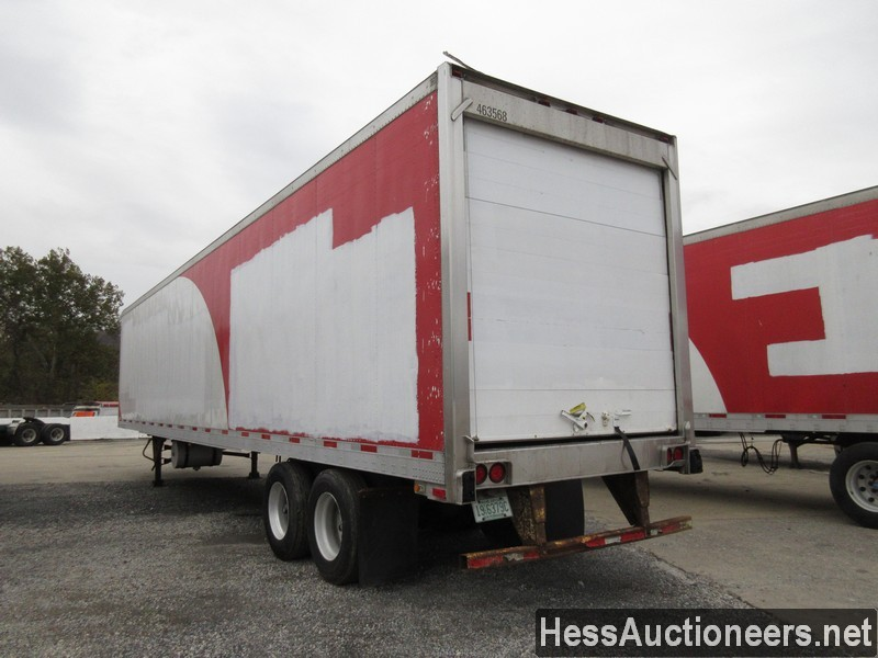 USED 2007 UTILITY 48' REEFER TRAILER #35478-4