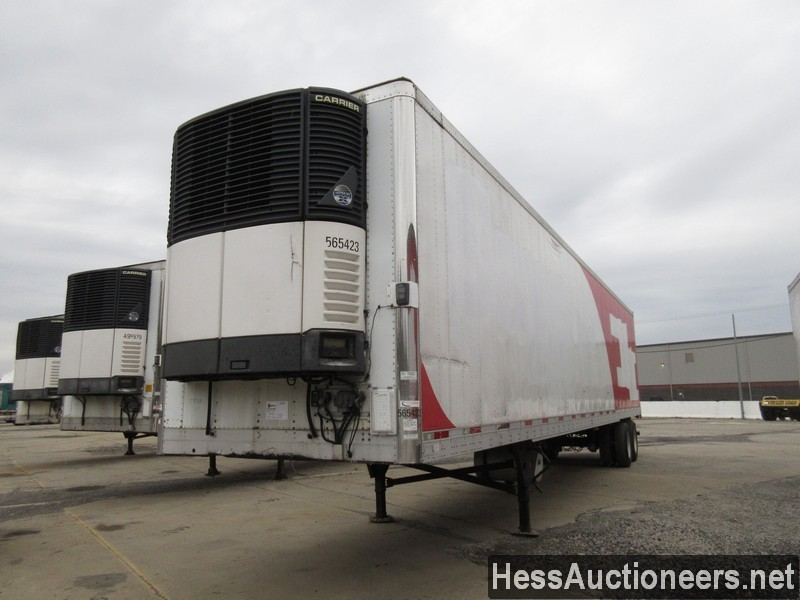 USED 2007 UTILITY 48' REEFER TRAILER #35479