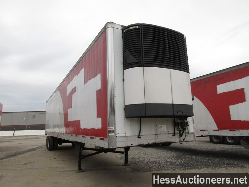USED 2007 UTILITY 48' REEFER TRAILER #35479-2