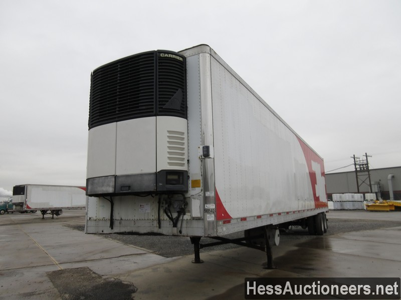 USED 2007 UTILITY 48' REEFER TRAILER #35481