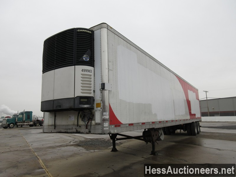 USED 2007 UTILITY 48' REEFER TRAILER #35482