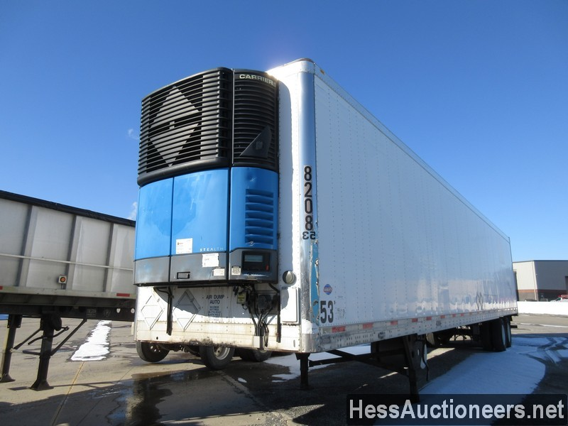 USED 2005 UTILITY 53' REEFER REEFER TRAILER #35587