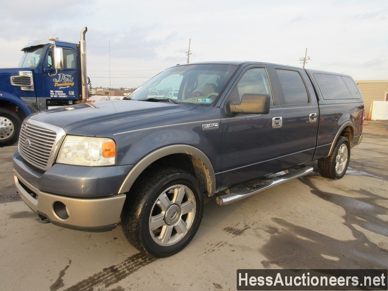 USED 2006 FORD F150 4WD 1 TON PICKUP TRUCK TRAILER #35632