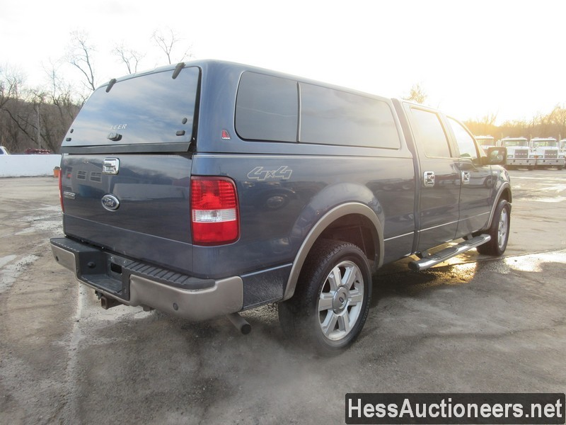 USED 2006 FORD F150 4WD 1 TON PICKUP TRUCK TRAILER #35632-3