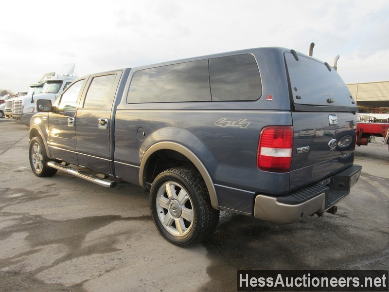 USED 2006 FORD F150 4WD 1 TON PICKUP TRUCK TRAILER #35632-4