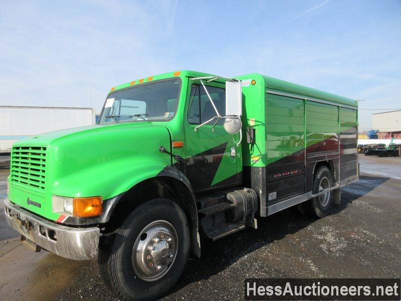 USED 2000 INTERNATIONAL 4700 BOX VAN TRUCK TRAILER #35680