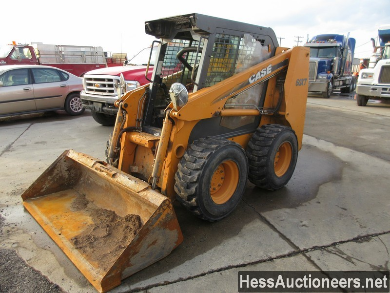 USED CASE 60XT SKID LOADER EQUIPMENT #36094-1