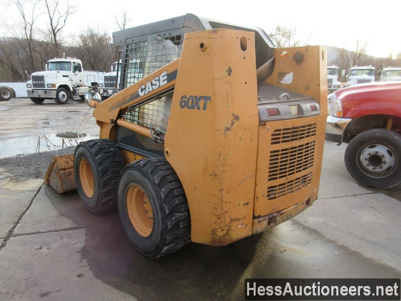 USED CASE 60XT SKID LOADER EQUIPMENT #36094-2