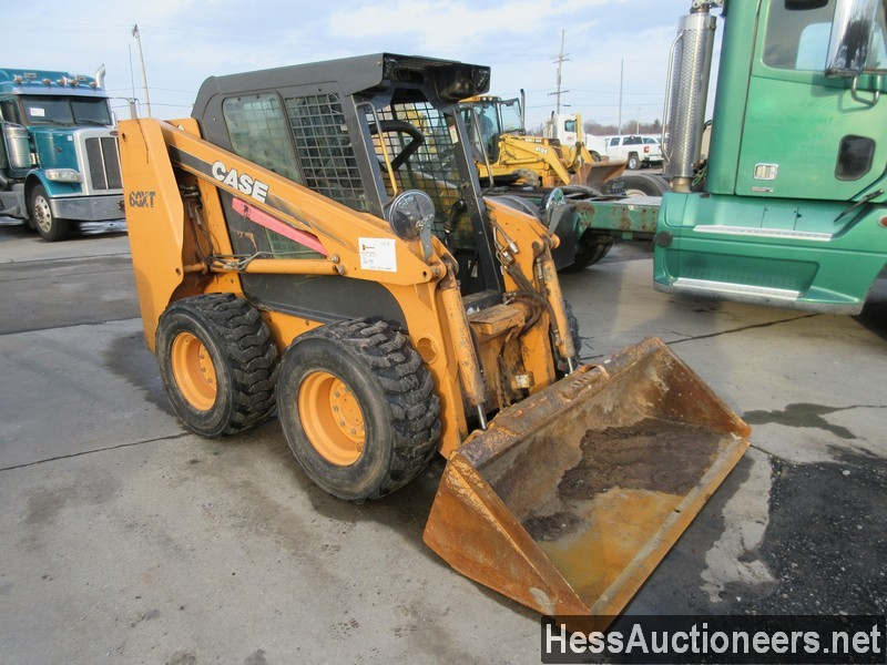 USED CASE 60XT SKID LOADER EQUIPMENT #36094-4