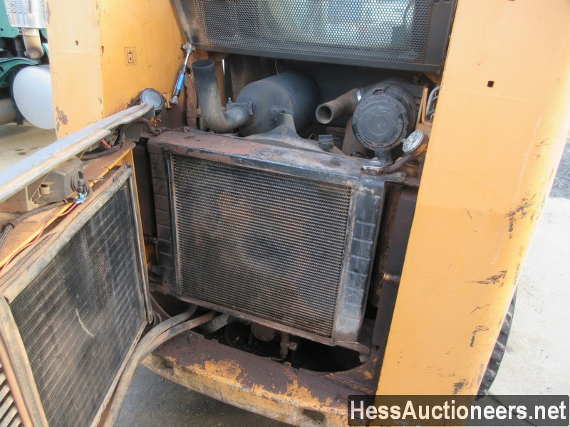 USED CASE 60XT SKID LOADER EQUIPMENT #36094-9