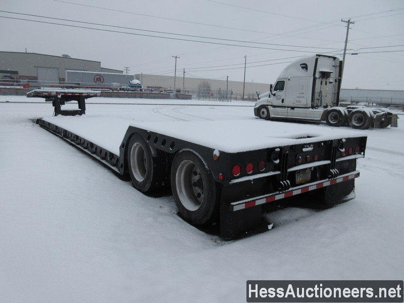 USED 2002 XL SPECIALIZED RGN LOWBOY TRAILER #36100-4