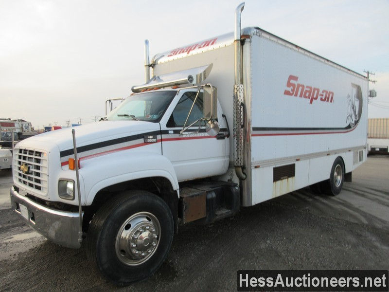 USED 1999 CHEVROLET C6500 BOX VAN TRUCK TRAILER #36120-1
