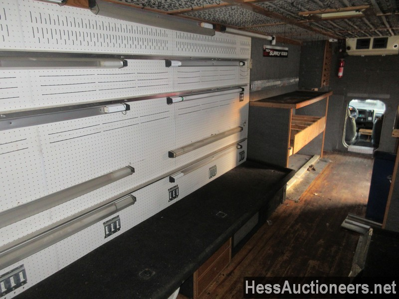 USED 1999 CHEVROLET C6500 BOX VAN TRUCK TRAILER #36120-16