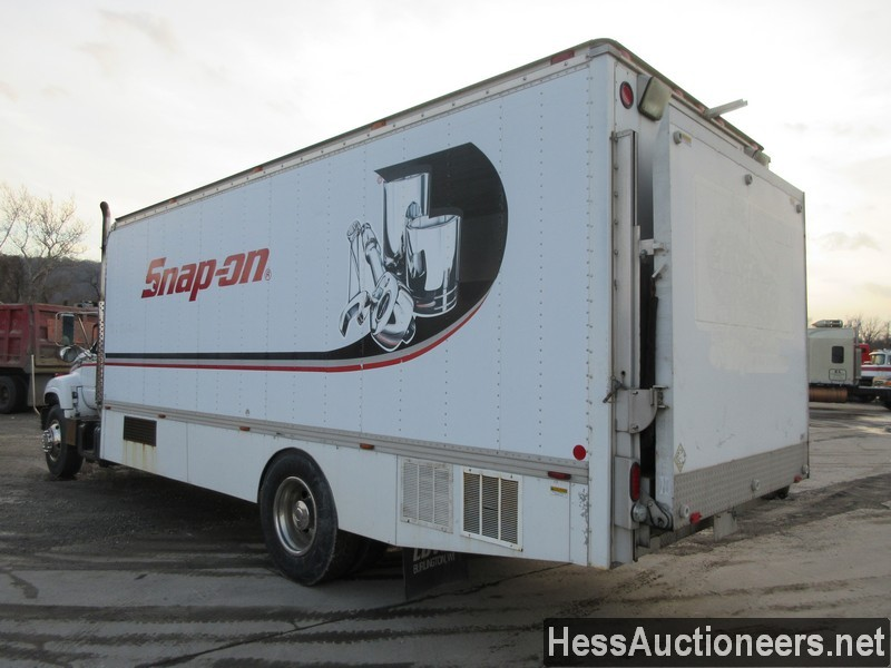USED 1999 CHEVROLET C6500 BOX VAN TRUCK TRAILER #36120-2