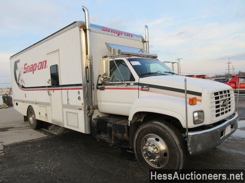 USED 1999 CHEVROLET C6500 BOX VAN TRUCK TRAILER #36120-3