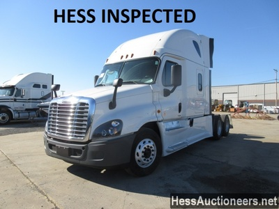USED 2014 FREIGHTLINER CASCADIA EVOLUTION TANDEM AXLE SLEEPER TRAILER #36355