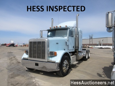 USED 2002 PETERBILT 378 TANDEM AXLE SLEEPER TRAILER #36363