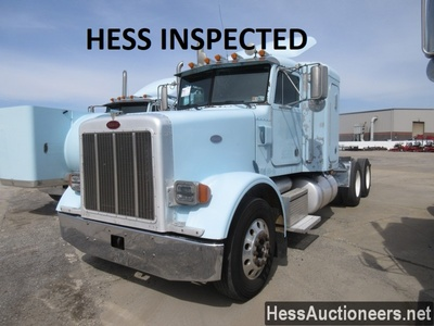 USED 2002 PETERBILT 378 TANDEM AXLE SLEEPER TRAILER #36364