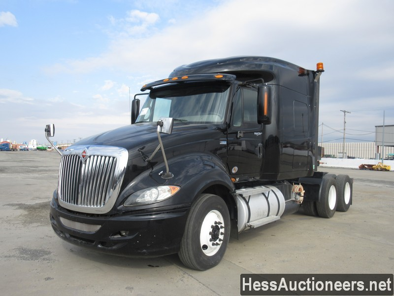 USED 2011 INTERNATIONAL PRO STAR TANDEM AXLE SLEEPER TRAILER #36489