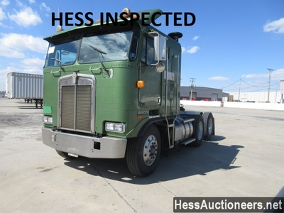USED 2000 KENWORTH K100E TANDEM AXLE SLEEPER TRAILER #36516