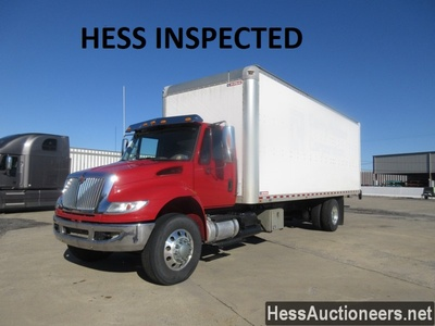 USED 2015 INTERNATIONAL 26' BOX VAN TRUCK TRAILER #37495