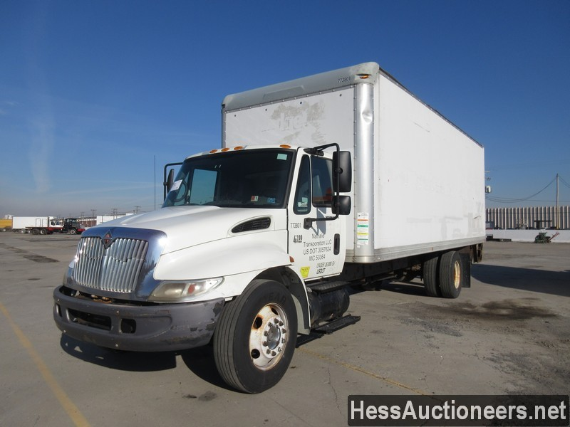 USED 2007 INTERNATIONAL 4200 BOX VAN TRUCK TRAILER #37515
