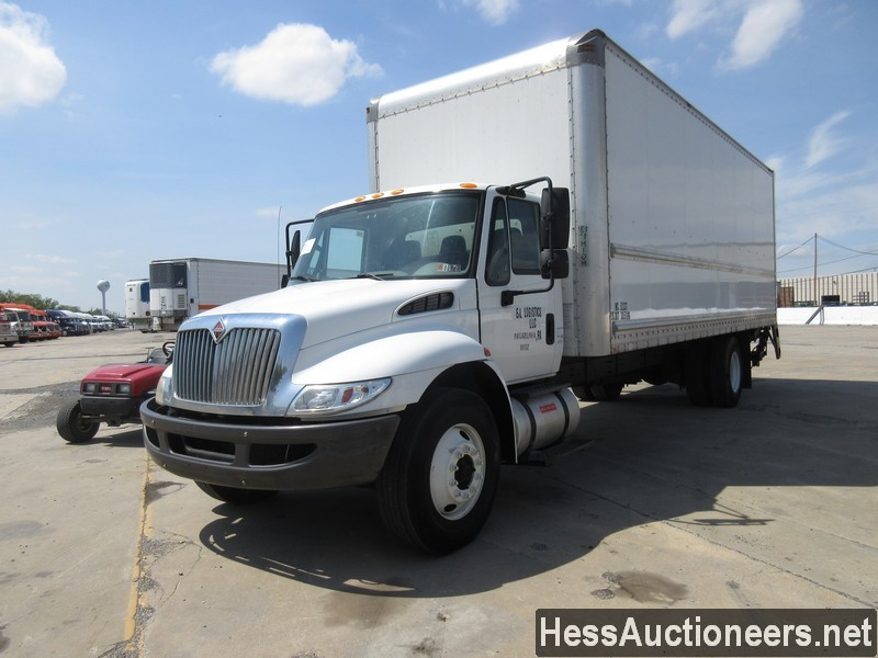 USED 2012 INTERNATIONAL 4300 BOX VAN TRUCK TRAILER #37599