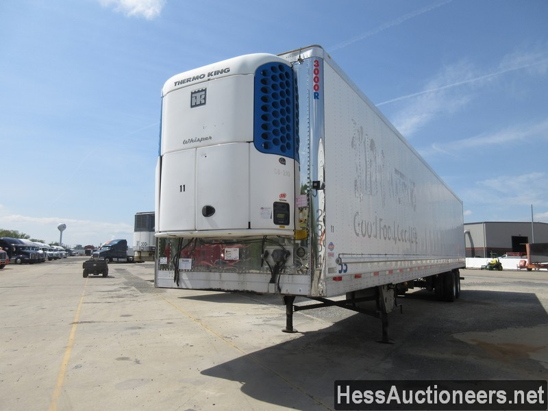 USED 2007 UTILITY 53' REEFER TRAILER #37604