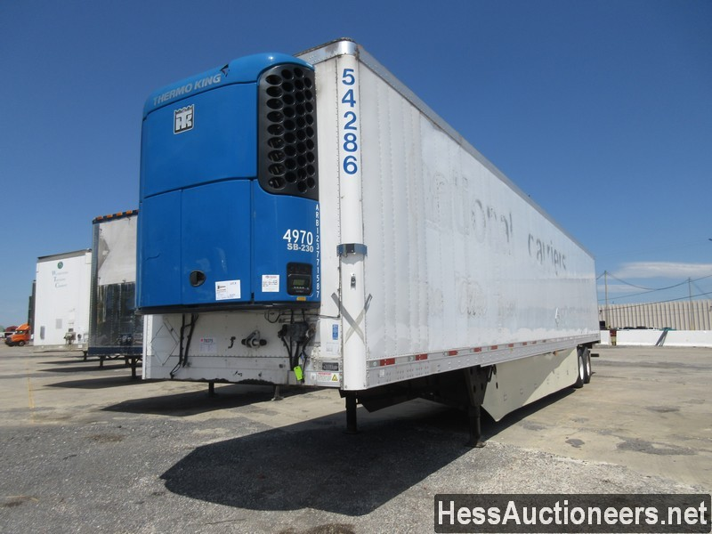 USED 2012 UTILITY 53' REEFER TRAILER #37757