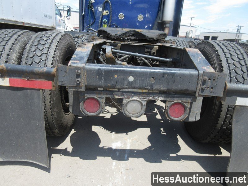 USED 2007 INTERNATIONAL 9400I TANDEM AXLE SLEEPER TRAILER #37828-16