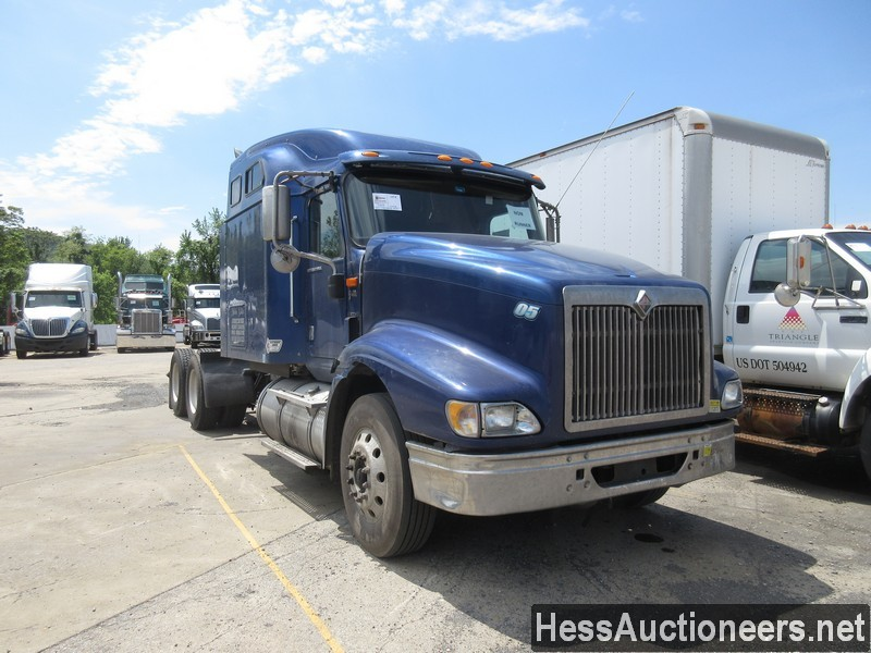 USED 2007 INTERNATIONAL 9400I TANDEM AXLE SLEEPER TRAILER #37828-2