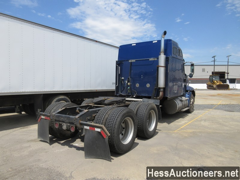 USED 2007 INTERNATIONAL 9400I TANDEM AXLE SLEEPER TRAILER #37828-3