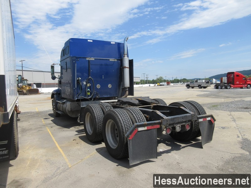 USED 2007 INTERNATIONAL 9400I TANDEM AXLE SLEEPER TRAILER #37828-4