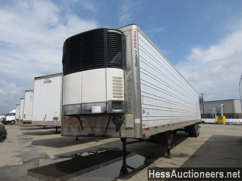 USED 2006 UTILITY 3000R REEFER TRAILER #38138