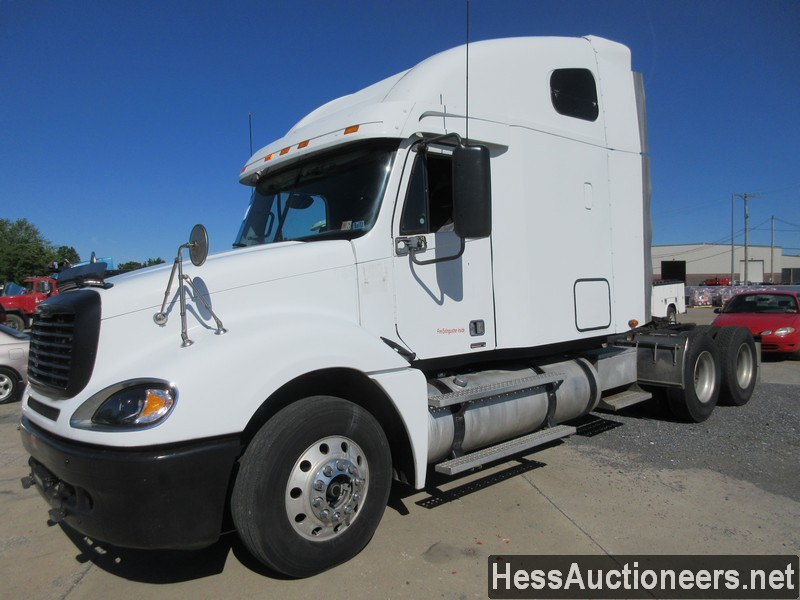USED 2007 FREIGHTLINER COLUMBIA 120 TANDEM AXLE SLEEPER TRAILER #38287