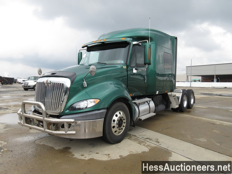 USED 2009 INTERNATIONAL PROSTAR TANDEM AXLE SLEEPER TRAILER #38615