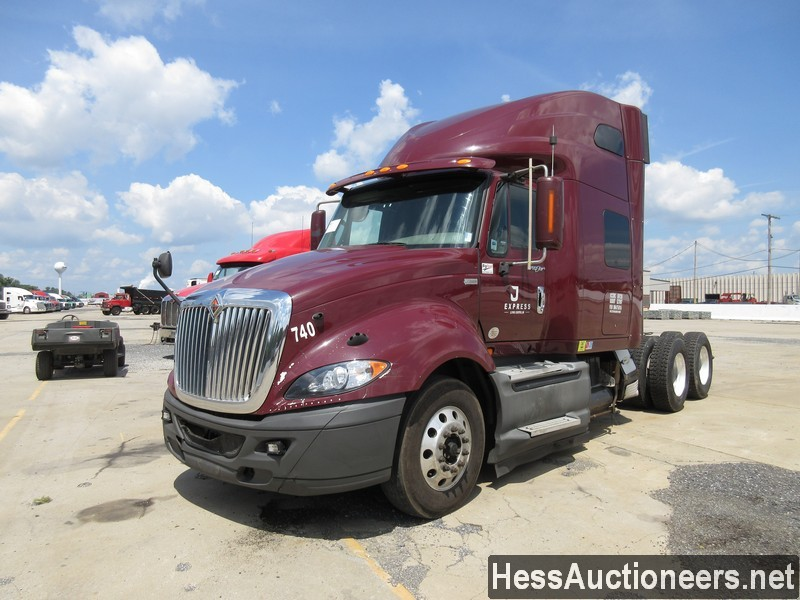USED 2013 INTERNATIONAL PROSTAR TANDEM AXLE SLEEPER TRAILER #38712
