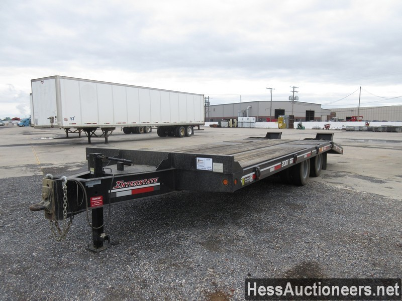 USED 2017 INTERSTATE 20DT TAG TRAILER #39016-1
